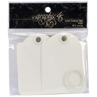 Graphic 45 Staples - Ivory Artist Trading Tags