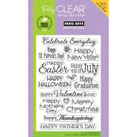 Hero Arts - Celebrate Everyday Stamp Set