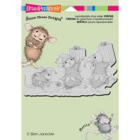 Stampendous - House Mouse Elf Gifts Stamp