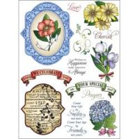Justrite - Botanical Medallions & Banners
