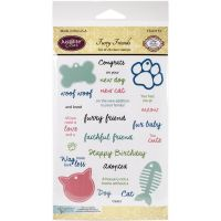 JustRite - Furry Friends Stamp Set