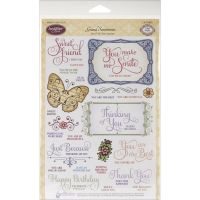 JustRite - Grand Sentiments Stamp Set