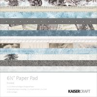 "Kaisercraft - Frosted 6 1/2"" Paper Pad"