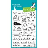 Lawn Fawn - Toboggan Together Clear Stamp Set