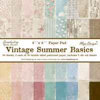 Maja Designs - Vintage Summer Basics Paper Pack