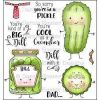 "Darcie - Big Dill Clear Stamp Set and ""Tin Pins""  -"