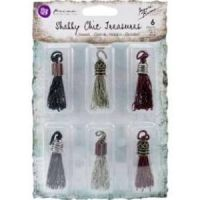 Prima Shabby Chic Treasures - Tassels/Punk  ~