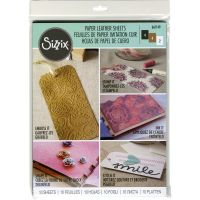 "Sizzix - Paper Leather 8.5""X11"" Sheets 10/Pkg"