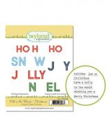 Taylored Expressions - Fill in the Blank Christmas Stamp Set  -