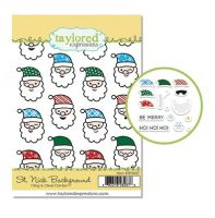 Taylored Expressions - St. Nick Background Stamp Set  -