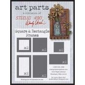 Wendy Vecchi Studio 490 - Art Parts Square and Rectangle Frames