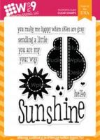 Wplus9 - Sending Sunshine Stamp Set