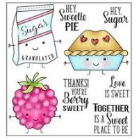 "Darcie Heart & Home - Sweetie Pie Stamp Set and ""Tin Pins""  -"