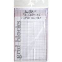 Tim Holtz Stampers Anonymous grid-blocks