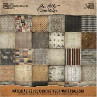 Tim Holtz Idea-ology - Materialize Paper Pack 8 x 8