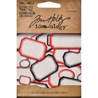 Tim Holtz Idea-ology - Vial Labels