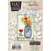 Wendy Vecchi Mat Minis - Flowers & Leaves **