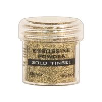 Ranger Embossing Powder  ^ (Colors: Gold Tinsel)