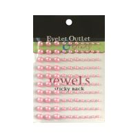 Eyelet Outlet - Self-Adhesive Pearls (Colors: Pink)