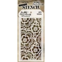 Tim Holtz Stampers Anonymous  Stencil  - (Stencil: Lace)