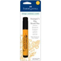 Faber Castell Stamper's Big Brush Pen  * (Faber Castell Stamper's Big Brush Pen Colors: Chrome Yellow)