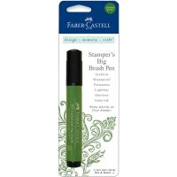 Faber Castell Stamper's Big Brush Pen  * (Faber Castell Stamper's Big Brush Pen Colors: Chrome Green)