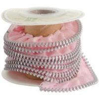 Melissa Frances Zipper Ribbon  ~ (Colors: Pink)