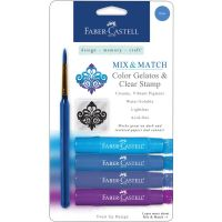 Faber Castell - Mix & Match Gelatos (Colors: Blue)