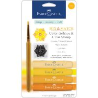 Faber Castell - Mix & Match Gelatos (Colors: Yellow)