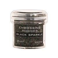 Ranger Embossing Powder  ^ (Colors: Black Sparkle)