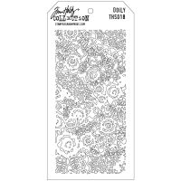Tim Holtz Stampers Anonymous Stencil (Stencil: Doily)