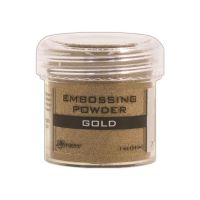 Ranger Embossing Powder  ^ (Colors: Gold)