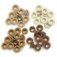We R Memory Keepers - Eyelets (Colors: Brown)