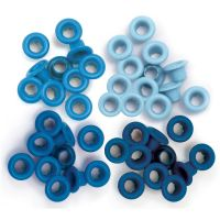 We R Memory Keepers - Eyelets (Colors: Blue)