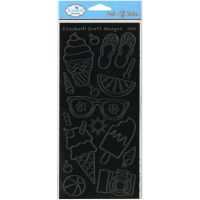 Elizabeth Craft Designs Peel Off Stickers (Peel-Offs: Summer)
