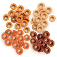 We R Memory Keepers - Eyelets (Colors: Orange)