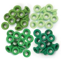 We R Memory Keepers - Eyelets (Colors: Green)