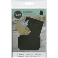 Sizzix - Inksheets Transfer Film (Colors: Black)