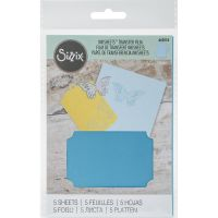 Sizzix - Inksheets Transfer Film (Colors: Light Blue)