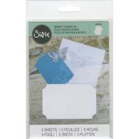 Sizzix - Inksheets Transfer Film (Colors: White)