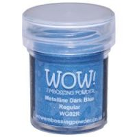 WOW! - Embossing Powders (WOW: Dark Blue Metalline - Regular)