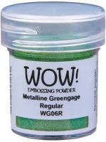 WOW! - Embossing Powders (WOW: Greengage Metalline - Regular)