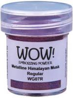 WOW! - Embossing Powders (WOW: Himalayan Musk Metalline - Regular)