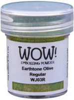 WOW! - Embossing Powders (WOW: Earth Tone Olive - Regular)